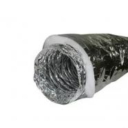 Гибкий теплоизолированный воздуховод из полиэфирной пены АПЛ 127х10м