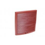 Vilpe Наружная вентиляционная решетка 375х375 (красный)