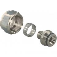 Зажимной резьбовой фитинг для труб РЕ-Хa, «евроконус» (12-20 мм) 16х2.2х3/4 ВР