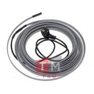 Комплект TMpro CR, греющий кабель (15 Вт) для обогрева трубы под теплоизоляцией 12м