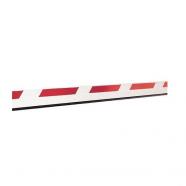 Стрела шлагбаума FAAC Стрела прямоугольная с демпфером и светоотражающими наклейками, 25х90х4815мм (