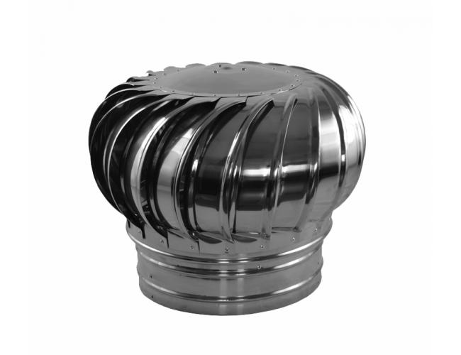 Активный дефлектор оцинкованный (ротационный) ТВ-250