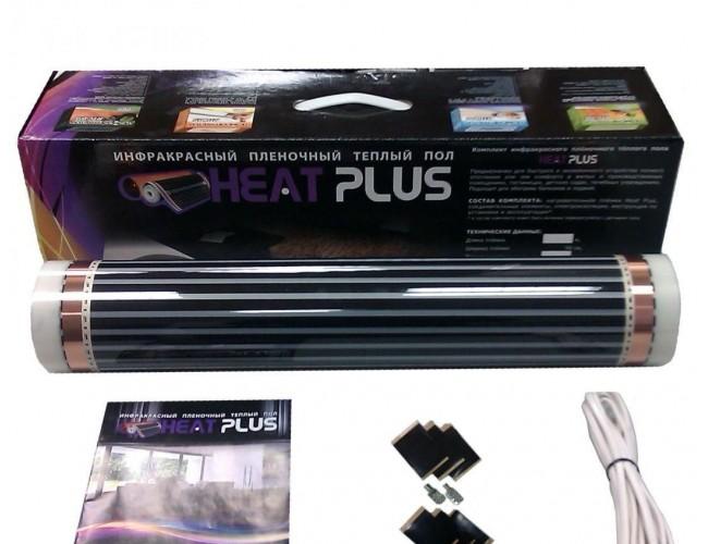 Комплект плёночного теплого пола Heat Plus, 220 Вт, 6кв.м.