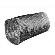 Воздуховод неизолированный гибкий алюминиевый А d102х10м