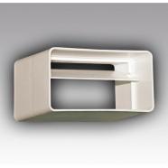 Соединитель прямоугольных воздуховодов с обратным клапаном 60х204