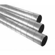Спирально-навивной воздуховод D=140 мм