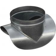 Врезка круглая D/d 125/100 мм