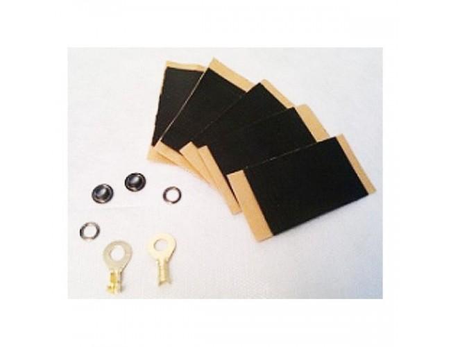 Монтажный набор (люверсы наконечники) для подкл. инфр. пленки