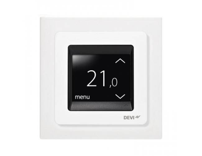 Терморегулятор Devireg Touch Polar White (полярный)