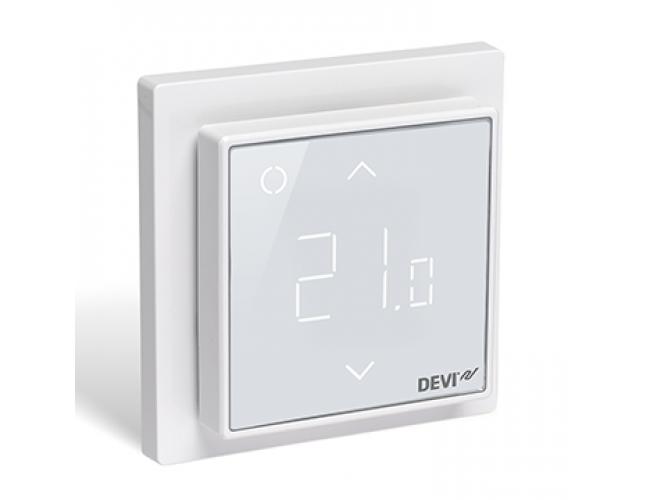 Терморегулятор Devireg Smart Polar White (полярный)