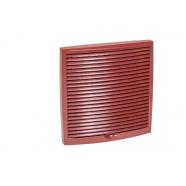 Vilpe Наружная вентиляционная решетка 150х150 (красный)