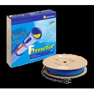 Комплект греющего кабеля для обогрева трубы FreezeTec резистивный с термостатом (12 Вт) 30м