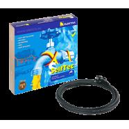 Комплект греющего кабеля для обогрева трубы SelfTec Elektra с вилкой (16 Вт) 1м