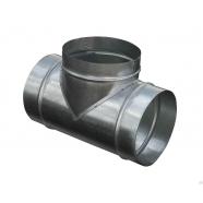 Тройник воздуховода D/d 100/100 мм