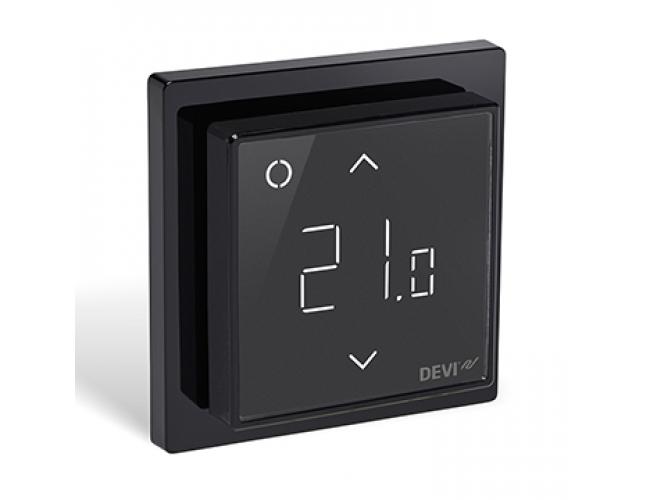 Терморегулятор Devireg Smart Black (черный)