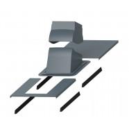 Vilpe PIIPPU MODULAR проходной элемент + окантовка (серый)