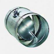 Дроссель-клапан 125 из оцинкованной стали