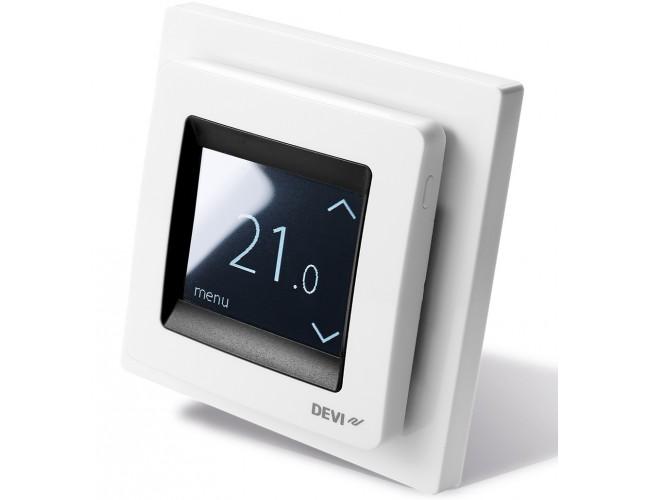 Терморегулятор Devireg Touch White (белый)