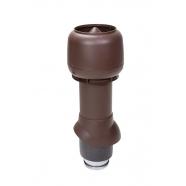 Vilpe 125/ИЗ/500 вентиляционный выход (коричневый)