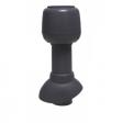 Vilpe 110/300/Н вентиляционный выход+колпак (черный)
