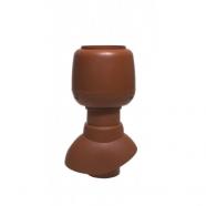 Vilpe 110/200/Н вентиляционный выход+колпак (кирпичный)