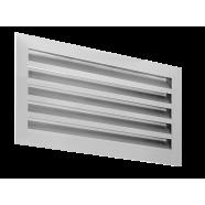 Алюминиевая инерционная решетка GA 400*200