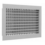 Настенная двухрядная решетка 2 WA 400*150