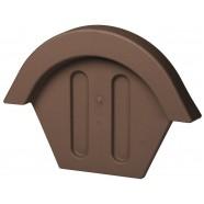 Vilpe TIILI торцевая заглушка (коричневый)