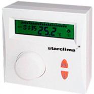 Проводной комнатный терморегулятор SATURN 2P