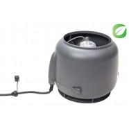 Vilpe ECo110S вентилятор (серый) + основание