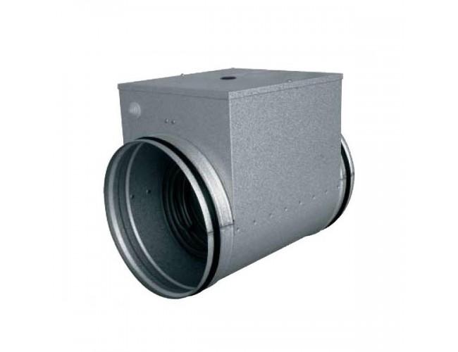 Канальный нагреватель воздуха для кгуглых каналов AIRONE EOK-125-2,4-1-ф